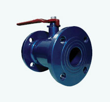 One-piece ball valves
